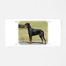 Manchester Terrier 9R032D-094 Aluminum License Pla
