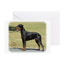 Manchester Terrier 9R032D-094 Greeting Card