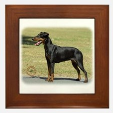 Manchester Terrier 9R032D-094 Framed Tile