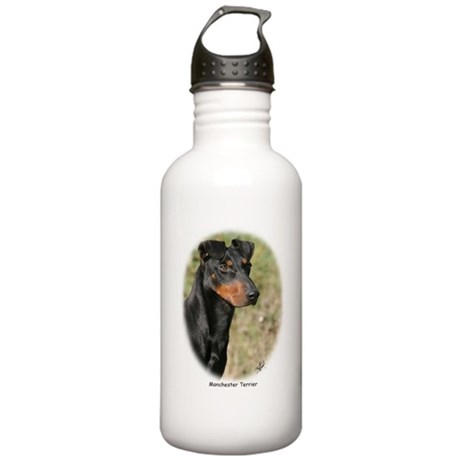 Manchester Terrier 9Y207D-061 Stainless Water Bott