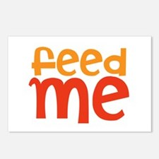 feed me Postcards (Package of 8)