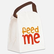 feed me Canvas Lunch Bag