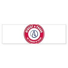Atheist Proud Bumper Sticker