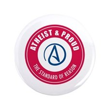"Atheist Proud 3.5"" Button (100 pack)"