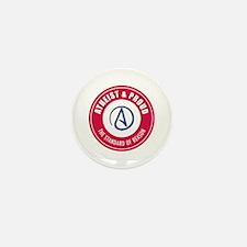 Atheist Proud Mini Button (100 pack)