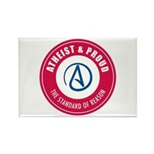 Atheist Proud Rectangle Magnet (10 pack)