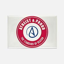 Atheist Proud Rectangle Magnet