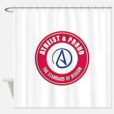 Atheist Proud Shower Curtain