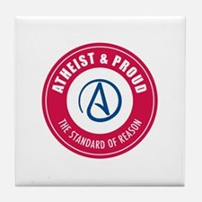 Atheist Proud Tile Coaster