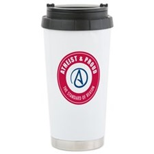 Atheist Proud Travel Mug