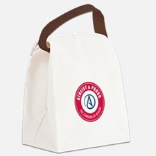 Atheist Proud Canvas Lunch Bag