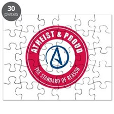 Atheist Proud Puzzle