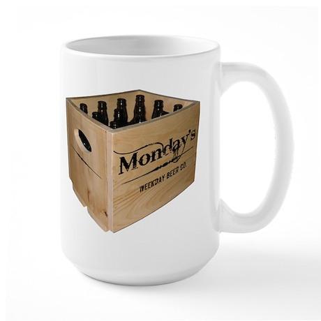 Case of the Mondays Large Mug