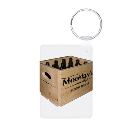 Case of the Mondays Aluminum Photo Keychain