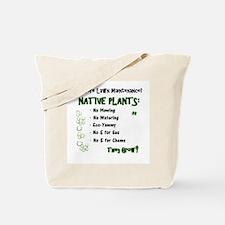 Native Plants for Frontyard Tote Bag