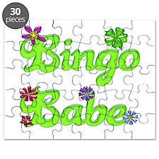 Bingo Babe Bubble Floral Puzzle