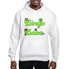 Bingo Babe Bubble Floral Hoodie