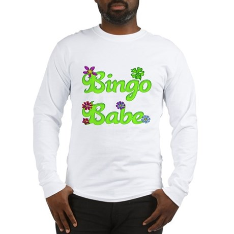 Bingo Babe Bubble Floral Long Sleeve T-Shirt