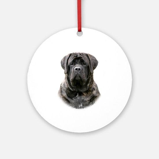 Mastiff 9Y363D-076 Ornament (Round)