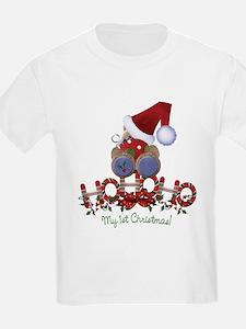 Ho Ho Ho 1st Christmas T-Shirt