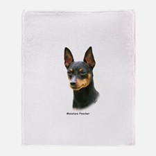Min Pin 8A083-13 Throw Blanket