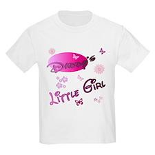 Daddy's Little Girl Kids T-Shirt