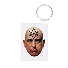 Aliester Crowley Keychains