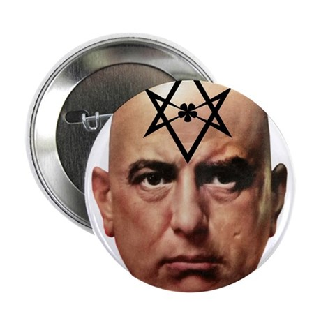 "Aliester Crowley 2.25"" Button"