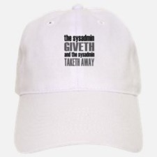The Sysadmin Giveth Cap
