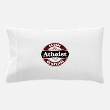Premium Atheist Logo Pillow Case