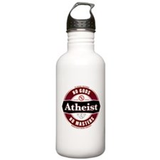 Premium Atheist Logo Sports Water Bottle