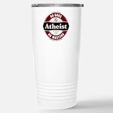 Premium Atheist Logo Travel Mug