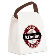 Premium Atheist Logo Canvas Lunch Bag