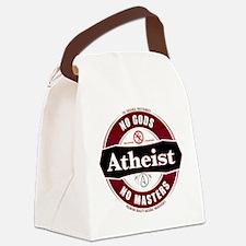 Premium Atheist Logo Canvas Lunch Bag