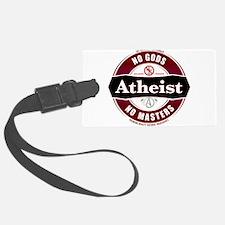Premium Atheist Logo Luggage Tag