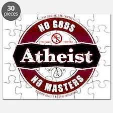 Premium Atheist Logo Puzzle
