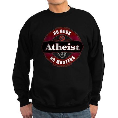 Premium Atheist Logo Sweatshirt (dark)