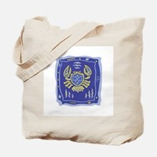 Cancer Zodiac Design Tote Bag