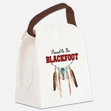 Proud to be Blackfoot Canvas Lunch Bag