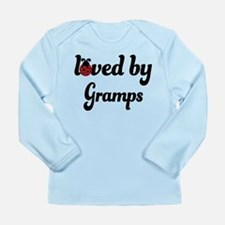 Loved By Gramps Ladybug Long Sleeve Infant T-Shirt
