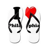 City of philadelphia Flip Flops