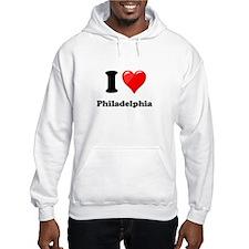 I Heart Love Philadelphia.png Hoodie