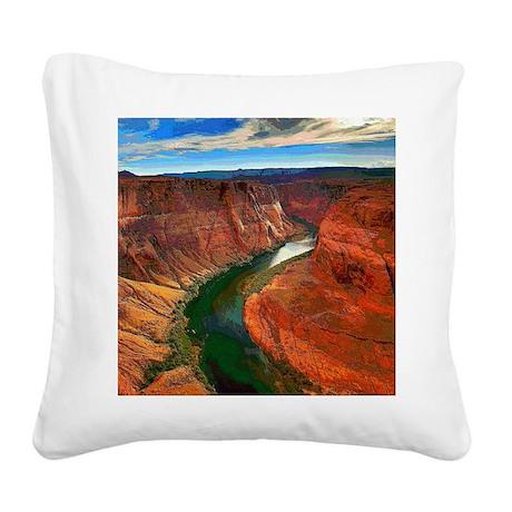 Grand Canyon, Arizona Square Canvas Pillow