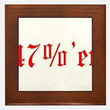 47 Percenter Framed Tile