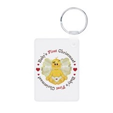 Angel First Christmas Keychains
