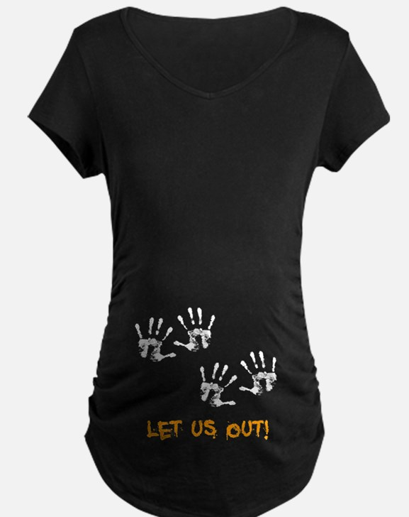 Twin Hand Prints T-Shirt