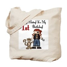Pirate Party 1st Birthday Tote Bag