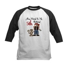 Pirate Party 5th Birthday Tee