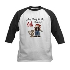 Pirate Party 6th Birthday Tee