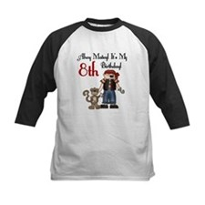 Pirate Party 8th Birthday Tee